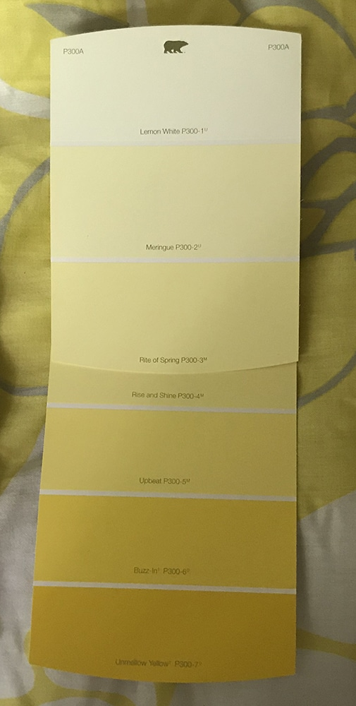 yellow color cards